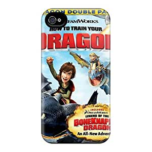 Scratch Protection Hard Phone Cover For Iphone 4/4s (BRw297Vmys) Support Personal Customs Lifelike How To Train Your Dragon Pattern