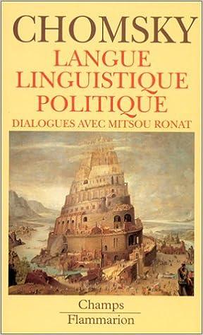 LANGUE,LINGUISTIQUE,POLITIQUE - DIALOGUES M  RONAT: Amazon