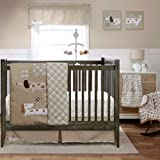 Puppy Play 4 Piece Baby Crib Bedding Set with Bumper by MiGi