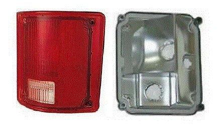 91 Chevrolet Light Truck (73 - 87 Chevrolet GMC Truck Passenger Taillight Taillamp No Trim Lens and Housing 73-91 Blazer Jimmy Suburban)