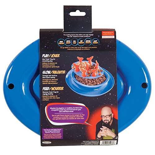 Jackson galaxy go fish slow feeder puzzle bowl buy for Jackson galaxy amazon