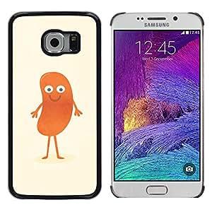 Stuss Case / Funda Carcasa protectora - DIVERTIDA - HOT DOG MAN - Samsung Galaxy S6 EDGE
