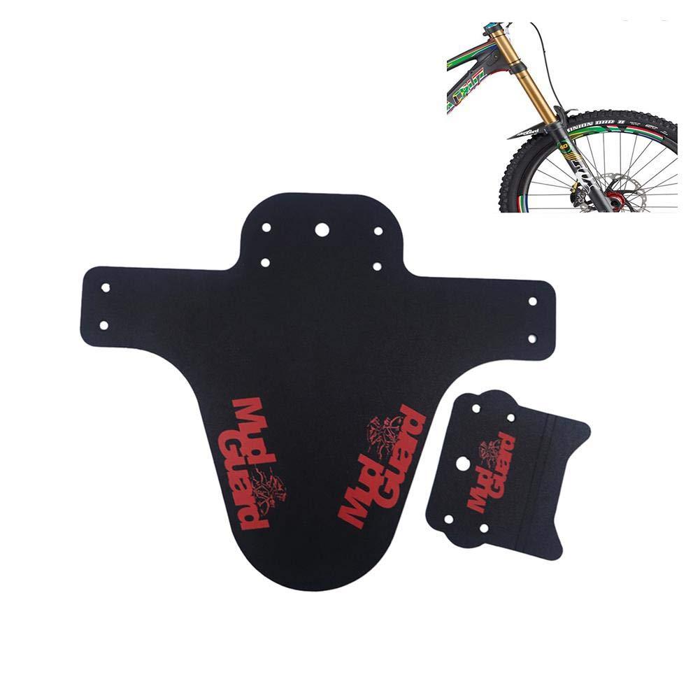 Garde-boue Vélo Fender, Beatie Garde Boue avant et arrière Coloré Rain-board Pour Vélo VTT Universal Beatie Garde Boue avant et arrière Coloré Rain-board Pour Vélo VTT Universal