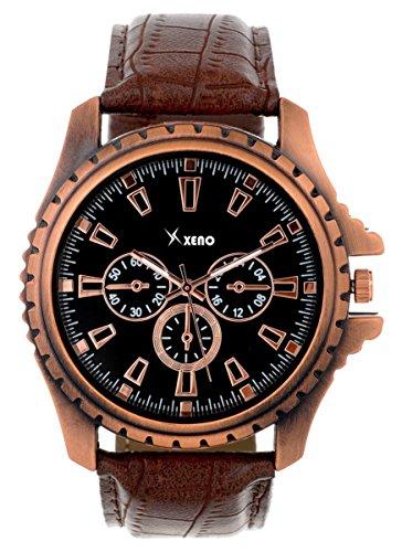 Xeno ZD00078X Copper Dial Men Analog Watch