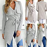 Clearance Sale BOOMJIU Women Long Sleeve Oversize Jacket, Women Casual Windbreaker Coat Overcoat