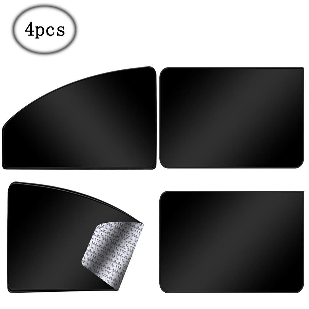 Sonnenschutz Magnetisch f/ür UV-Schutz Hitzeschutz Schwarz ZATOOTO Sonnenschutz f/ürs Auto Vorhang