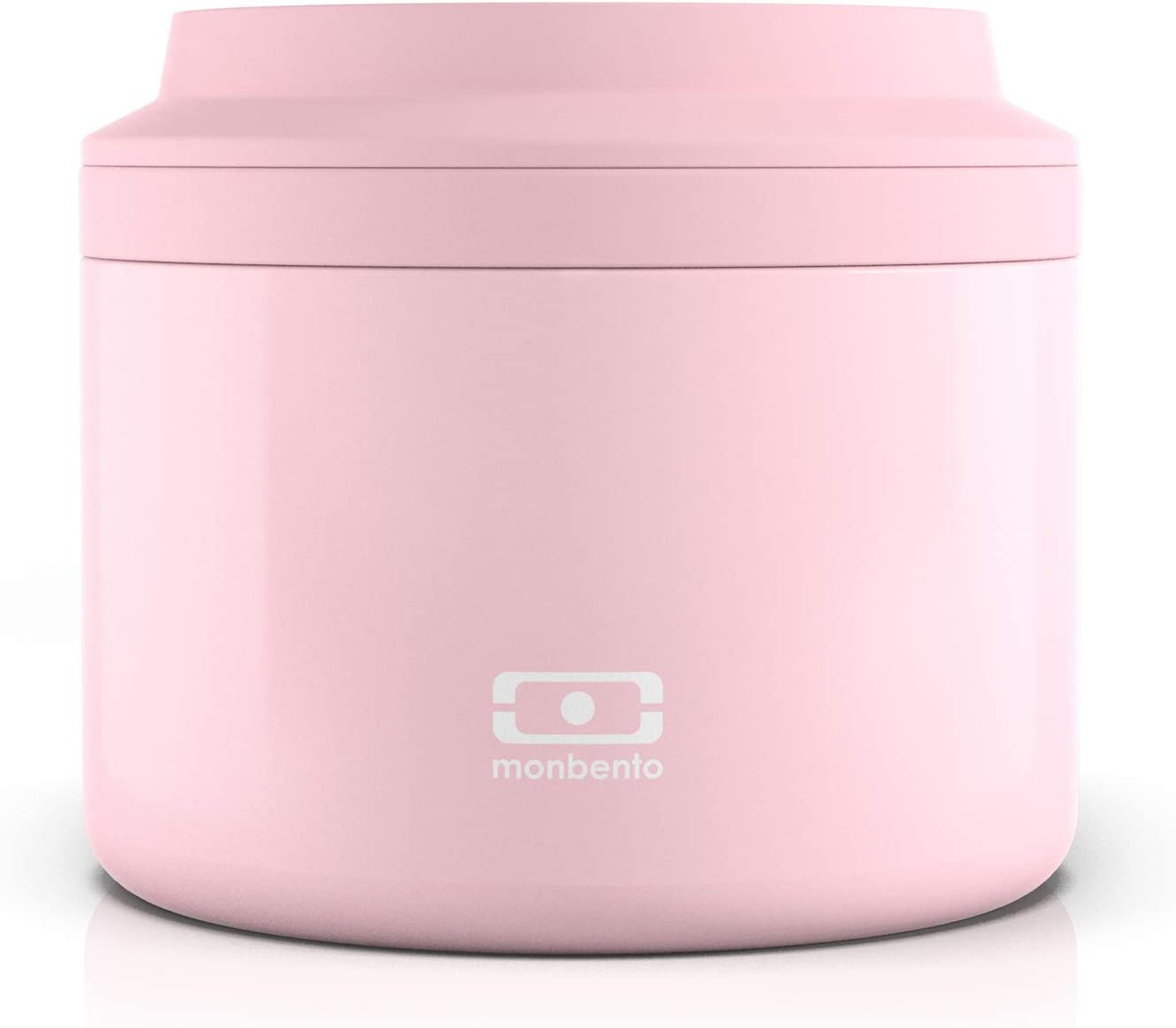 monbento - MB Element Litchi Pink Insulated Container - Leakproof and Insulated Lunch Box Keeps Food hot/Cold - BPA Free - Food Grade Safe…
