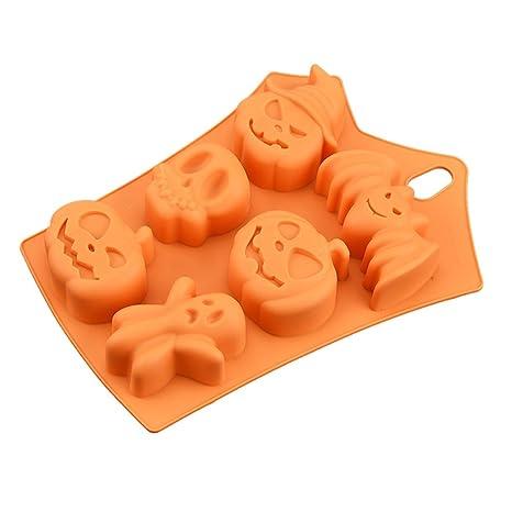 Moldes de Silicona para Hacer Moldes Silicona Bombones Decoracion Tartas de Chocolate Halloween