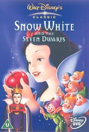 Snow White And The Seven Dwarfs 1937 Dvd 1938 Amazon Co Uk David Hand Lucille La Verne Voice Harry Stockwell Voice Otis Harlan Voice Billy Gilbert Voice Adriana Caselotti Voice Moroni Olsen Voice Dvd