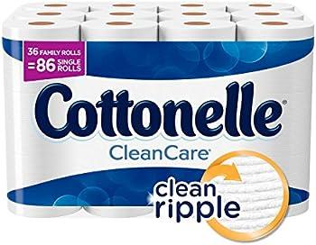 36-Pack Cottonelle CleanCare Toilet Paper Bath Tissue
