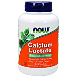 NOW Calcium Lactate,250 Tablets For Sale