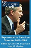 Representative American Speeches 2002-2003, , 0824210247