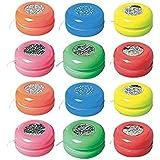 Amscan Laser Yo-Yo's | Party Favor | Pack of 12