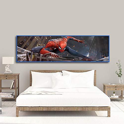 oioiu Wildlife Spider Movie Protection World City Crawling Poster HD Imprime Samurai Lienzo Pintura Comic Mural salon decoracion del hogar superheroe