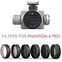 PGYTECH DJI phantom 4 Pro Accessories Lens Filters UV+ND4+ND8+ND16+ND32+CPL Filter Drone gimbal RC Quadcopter parts