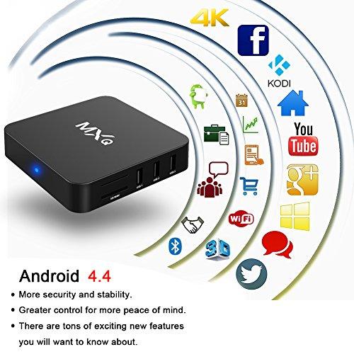 Zenoplige MXQ Amlogic S805 Quad Core Android TV Box Wifi Lan