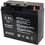 Replacement Battery Black & Decker VEC026BD Electromate 400 12V 22AH Battery -( SPS Brand)