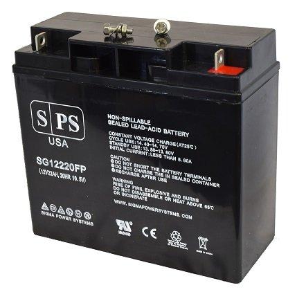 Replacement Battery Roche Diagnostics KAAT Balloon Pump 12V 22AH Medical Battery -( SPS Brand)