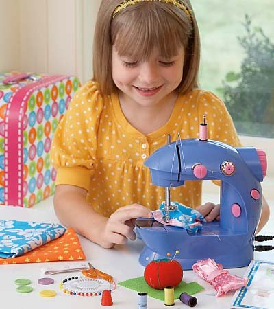 ALEX Toys Adjustable Two-Speed My Little Sewing Machine