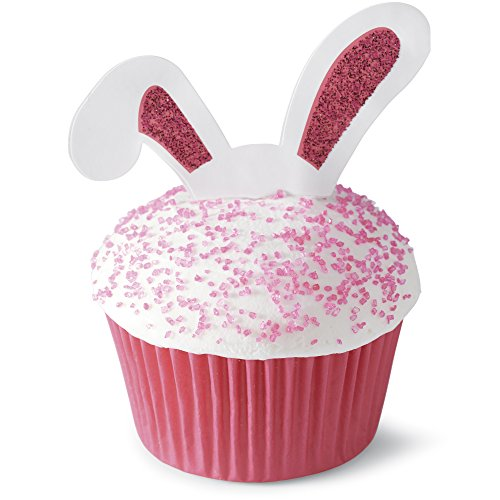 Easter - Bunny Ears Cupcake Picks Set of 12