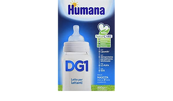Amazon.com: Humana Dg 1 Milk Powder From Birth 800g: Health & Personal Care