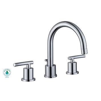 Glacier Bay Dorset 8 in. Widespread 2-Handle Bathroom Faucet in ...