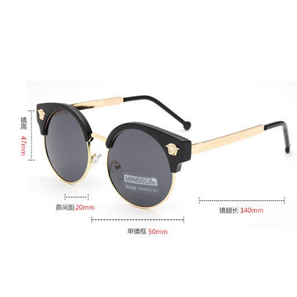 CCTYJ Gafas de Sol Retro con Caja Grande uv400 con Gafas de ...