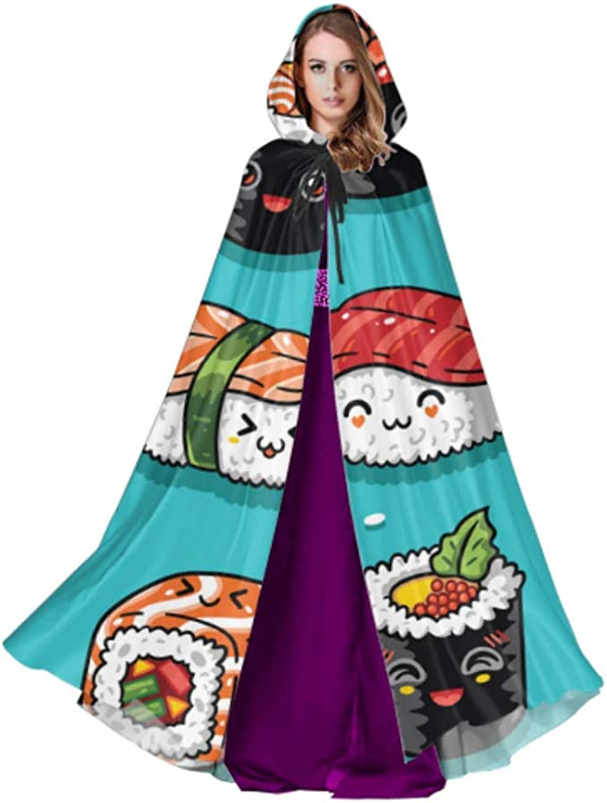 ZHANGhome Cute Tasty Food Sushi Adult Cloak Cloak para Adultos 59 ...