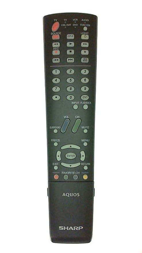 Amazoncom Sharp Rrmcga600wjsa Infrared Remote Control Oem Original