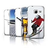 STUFF4 Phone Case/Cover for Samsung Galaxy J1 Nxt/Mini/Pack 10pcs/Skiing/Snowboarding Collection