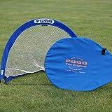 PUGG 4 Foot Pop Up Soccer Goal - Portable Training Futsal Football Net - The Original Pickup Game Goal (One Goal & Bag)