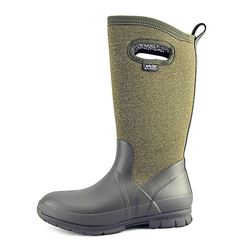 Women's Bogs Multi Chocolate Tall Crandall Snow Boot ST7Tnx