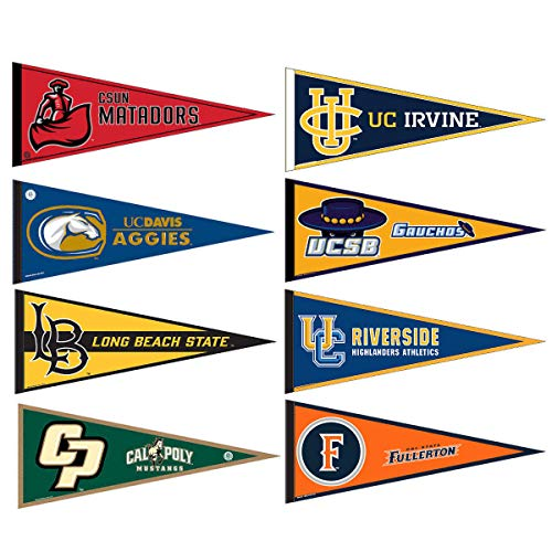 (Big West Conference College Pennant)