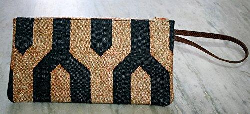 Zari lavoro cotone frizione, borsetta, borsa, borsa da donna, pochette, Old realizzato a mano, da donna, moda borsetta