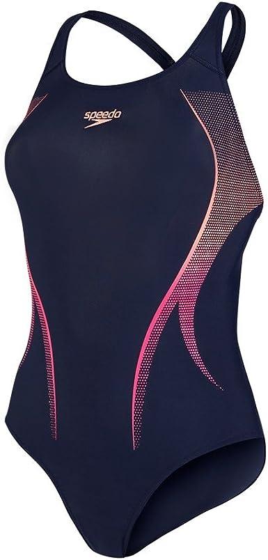 Speedo Women's Activeturn Placement Power Back Swimsuit
