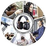 Tacklife Casque Anti-bruit Pliable Enfant Adulte, SNR 34dB/Protection Auditive/Certification CE/Confortable/Idéal pour… 13