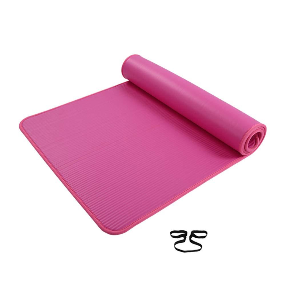 HYTGFR Extra Gruesa Antideslizante Estera de Yoga Hombres ...