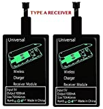 2 Pack of qi Receivers Type A for Samsung Galaxy