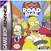 The Simpson's Road Rage - Game Boy Advance