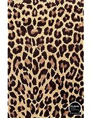 LEOPARD PRINT: A LINED NOTEBOOK & JOURNAL: An Awesome Leopard Print Journal With Lined Interior - Great Gift Idea