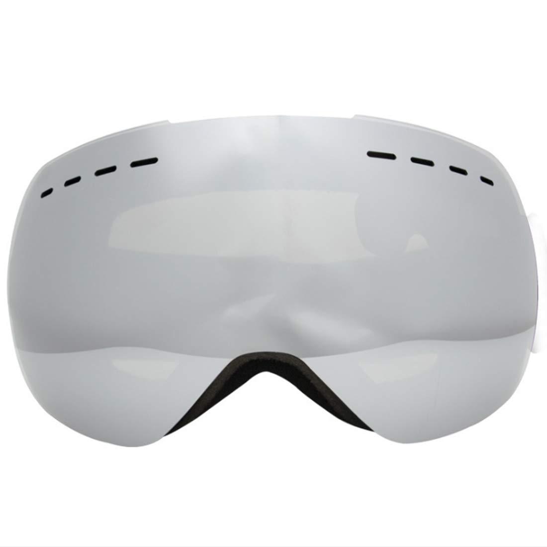 KERVINFENDRIYUN YY4 Gafas de esquí, Snowboard de Invierno, Deportes de Nieve Sobre Gafas Gafas con Lentes antivaho de protección UV Doble (Color : 01) Deportes de Nieve Sobre Gafas Gafas con Lentes antivaho de protección UV Doble (Color : 01)