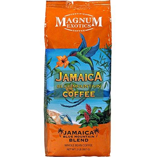 Magnum Jamaica Blue Mountain Coffee Blend - 2lbs Whole Bean (4 Pack) ()