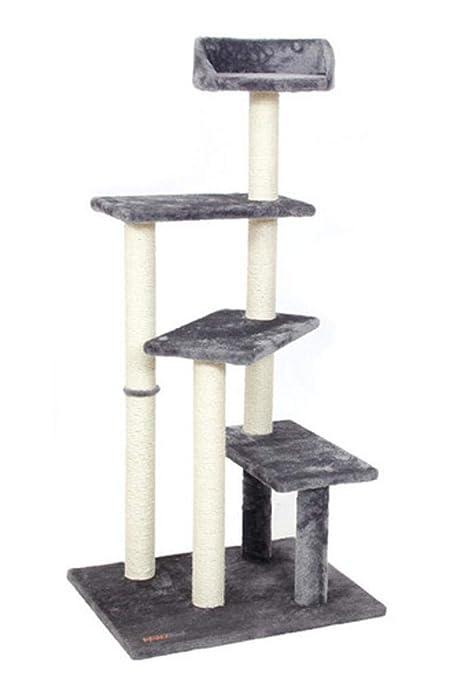 Kaxima Árbol para Gatos Sisal Grande Gato Plataforma Gato Gato Basura Cat Scratch Board Cat Estante