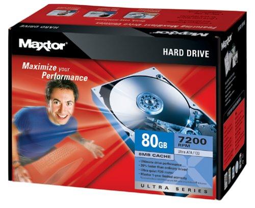 Maxtor DiamondMax Plus 80GB U133 Internal IDE Hard Drive -