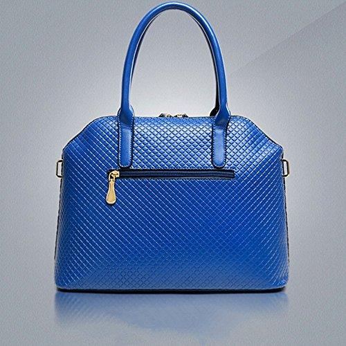 para Mujer Bolso negro Azul Hombro Eysee 11cm Oscuro Azul 33cm al 25cm tnORSTIqx