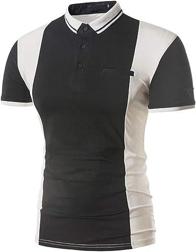 POLP Polos de Golf para Hombre Camisetas y Tops Casual Manga Corta ...