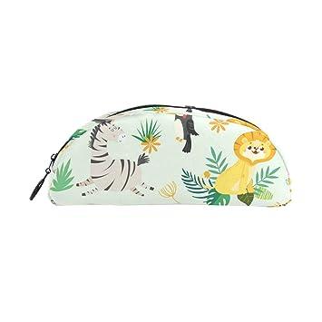 Giraffe Elephant Tiger Zebra - Estuche para bolígrafos de ...
