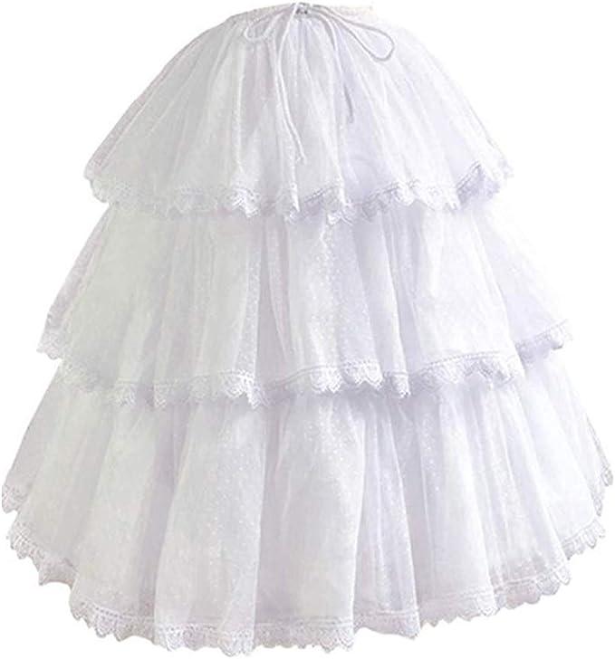Victorian Lingerie – Underwear, Petticoat, Bloomers, Chemise HappyStory Long-Short Dress Pannier Hoop Skirt Underskirt Petticoat Lolita Dress  AT vintagedancer.com