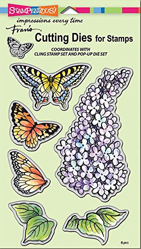 Stampendous Lilac Stamps & Dies Set - 2 Item Bundle