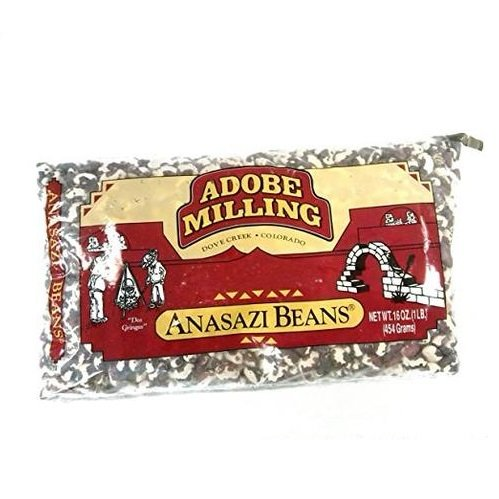 Adobe Milling Dried Anasazi Beans (Pack of 10) by Adobe Milling